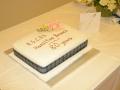 6 - 80th Anniversary Cake